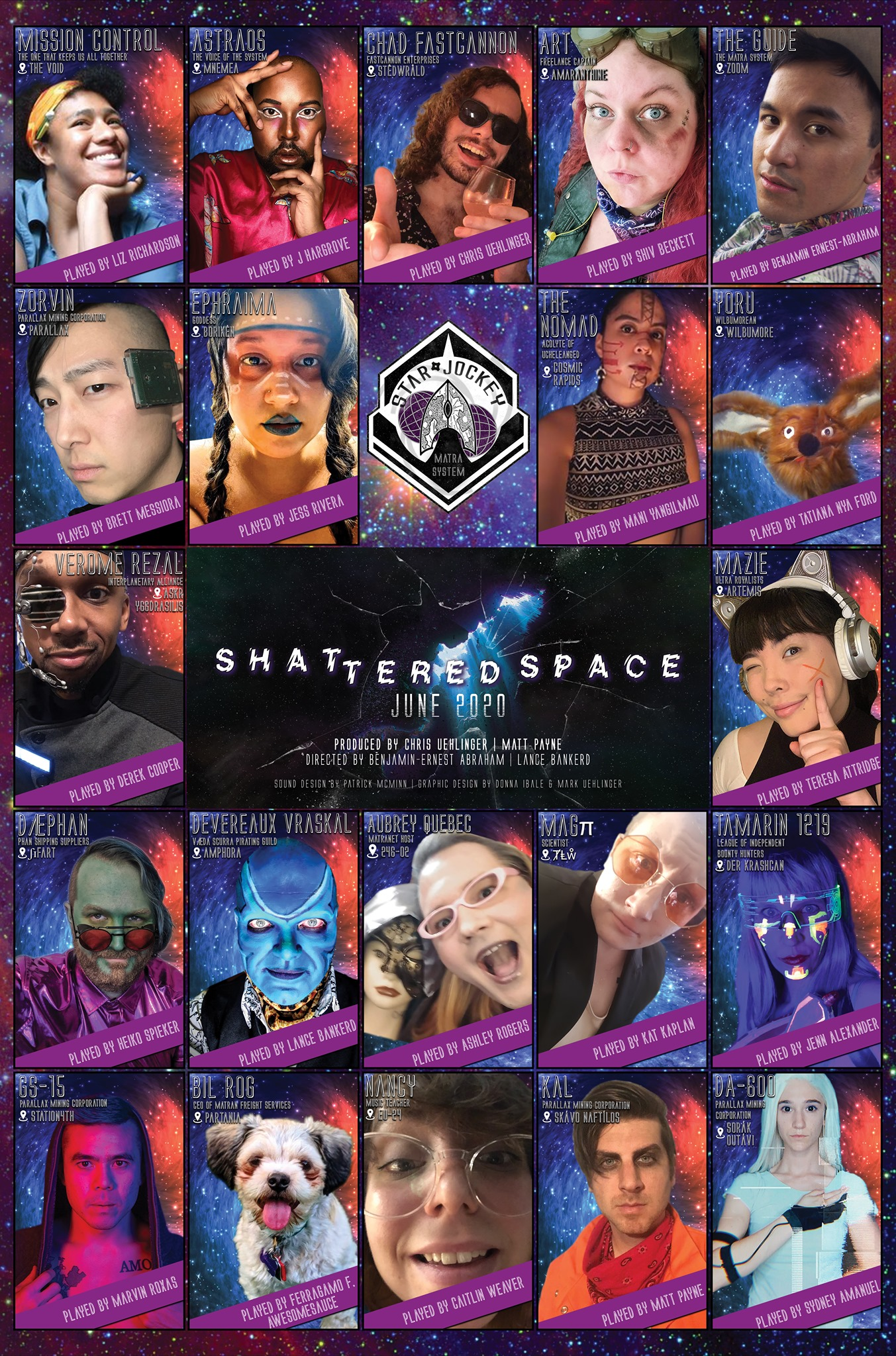 Shattered Space Poster